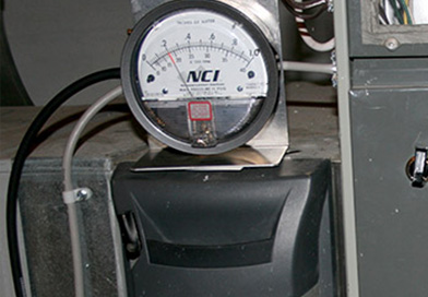 Quickly Check Duct Size with Pressure Measurement