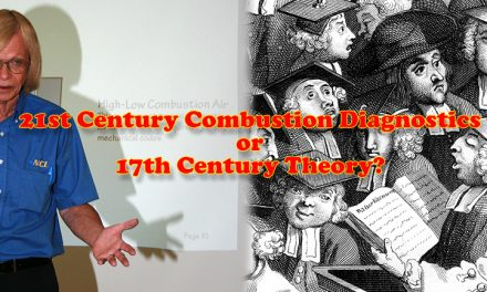 21st Century Combustion Diagnostics Vs. 17th Century Theory