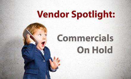 NCI September Vendor Spotlight: Commercials on Hold