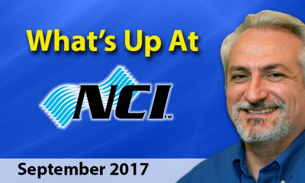 What's Up at NCI ? September 2017