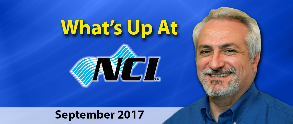 What's Up at NCI – September 2017
