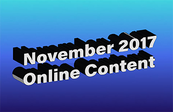 November 2017 Online Content