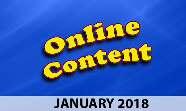 January 2018 Online Content