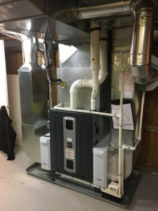 #HVAC duct renovation - enlarge thereturn drop