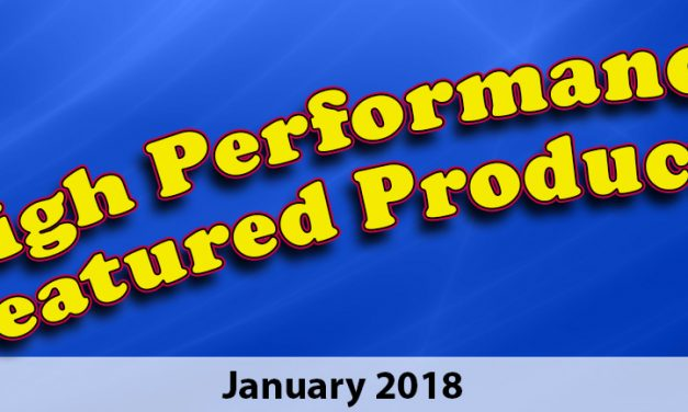January 2018 High Performance Products
