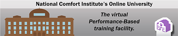 National Comfort Institute, Inc. Online University