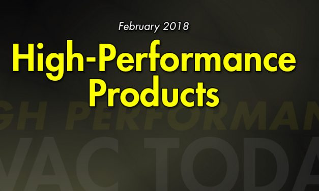 February 2018 High Performance Products
