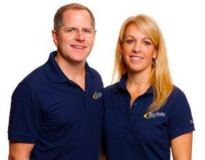 Schneller owners Kris and Lisa Knochelmann
