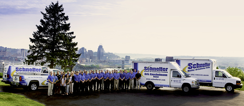 February 2018 Contractor Spotlight: Schneller Plumbing, Heating, and Air