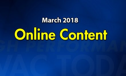 March 2018 Online Content