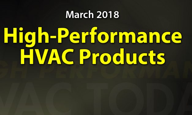 March 2018 High Performance Products