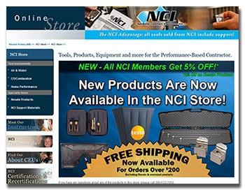 National Comfort Institute Member Tool Sales