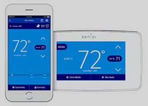 HVAC Today Products Emerson Sensi Thermostats