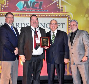 NCI's David Debien Technical Excellence Award winner is TM Johnson Brothers, Cambridge, MN