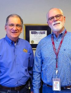 Austin Energy's Tom Turner and Terry Moore