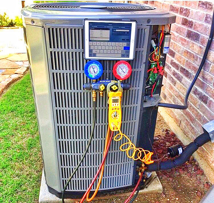 High Performance HVAC Today Photo of the Month Winner is from McKinney, TX. Keep submissions coming.