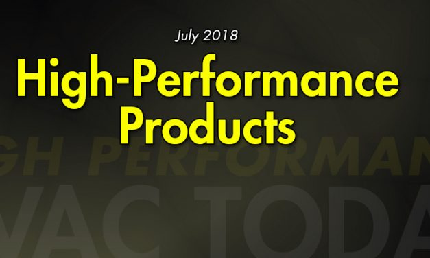 July 2018 High Performance Products