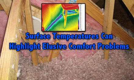 Surface Temperatures Can Highlight Elusive Comfort Problems