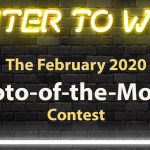 Call For Entries for February 2020 Photo-of-the-Month