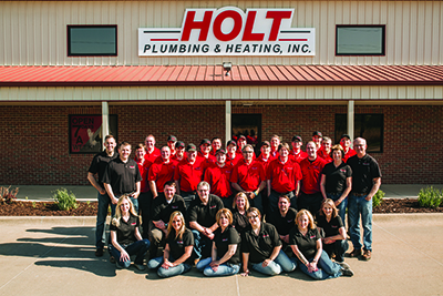 The Holt Plumbing and Heating Team