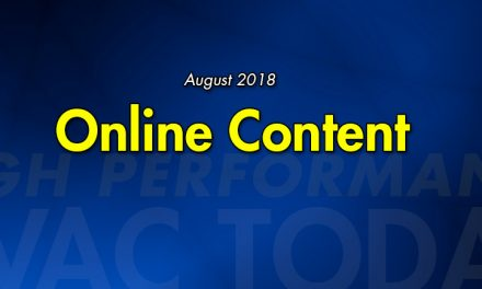 August 2018 Online Content
