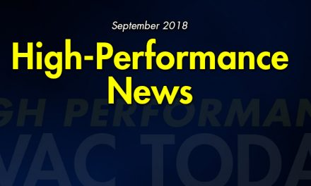 September 2018 High-Performance News