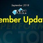 September 2018 NCI Member Update