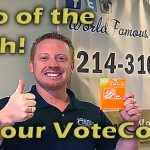 WE NEED YOUR VOTE TODAY!