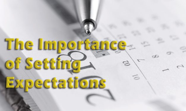 Setting Both the Appointment and Your Customers' Expectations