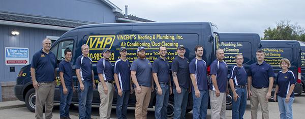 October 2018 Contractor Spotlight: Vincent's Heating and Plumbing