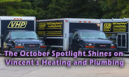 October 2018 Contractor Spotlight on Vincent's Heating and Plumbing