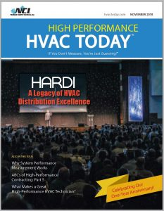 High-Performance HVAC Today Anniversary Cover