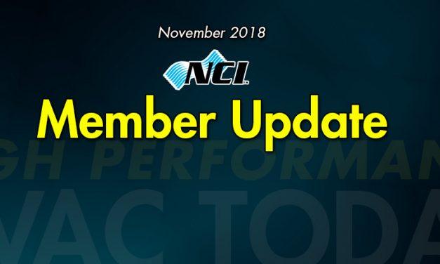 November 2018 Member Update