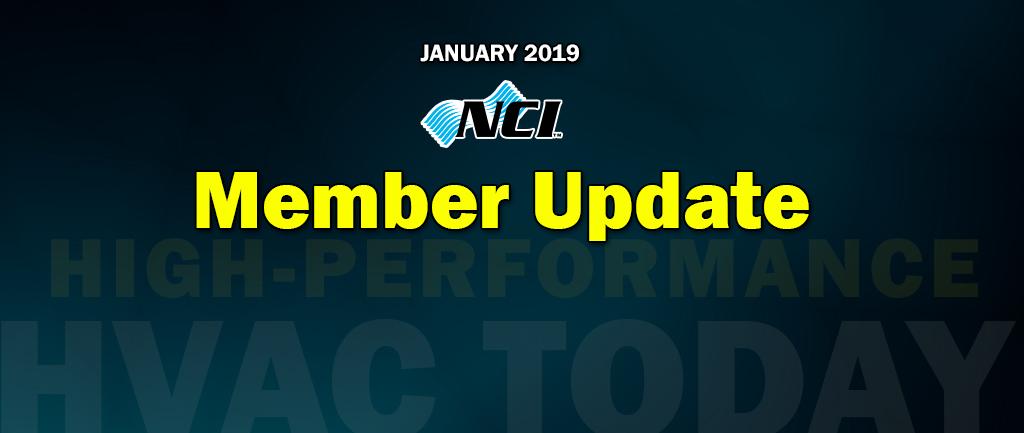 January 2019 Member Update