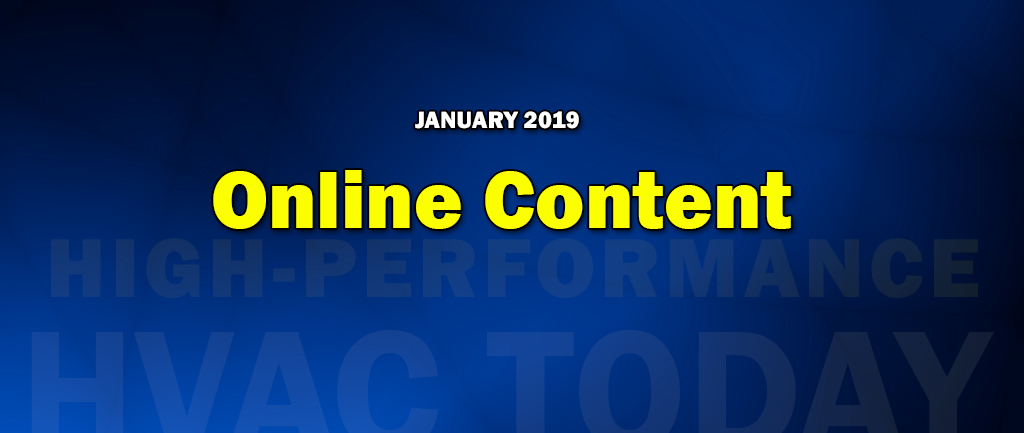 January 2019 Online Content