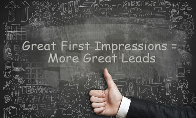 First Impression Impact on Lead Generation