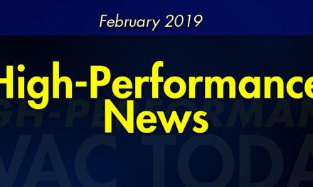 February 2019 High-Performance News