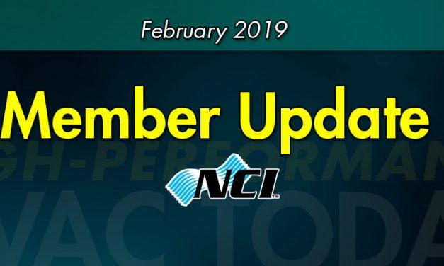 February 2019 Member Update
