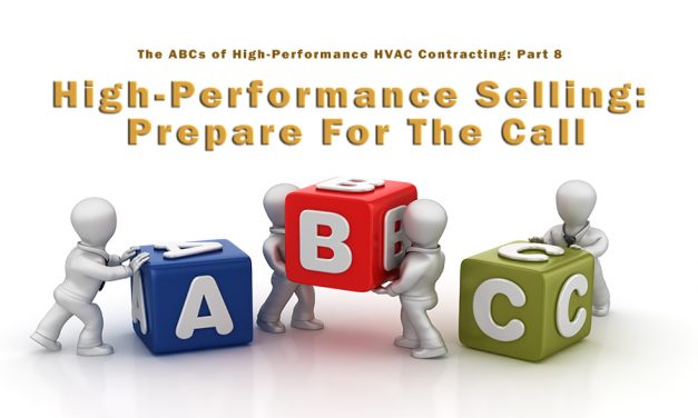 The ABCs of High-Performance Contracting: Part 8