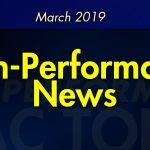 March 2019 High-Performance News