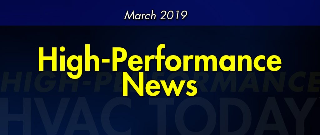 March 2019 High-Performance News