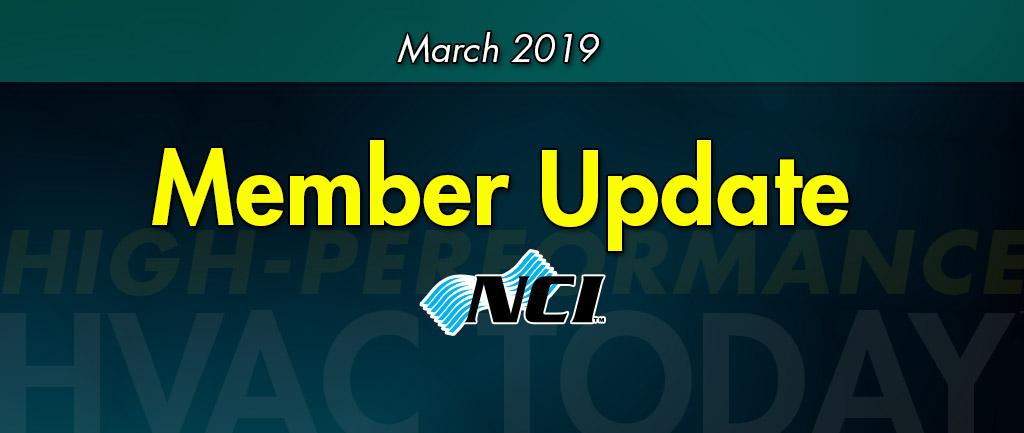 March 2019 NCI Member Update