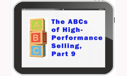 Six Steps of High-Performance Selling