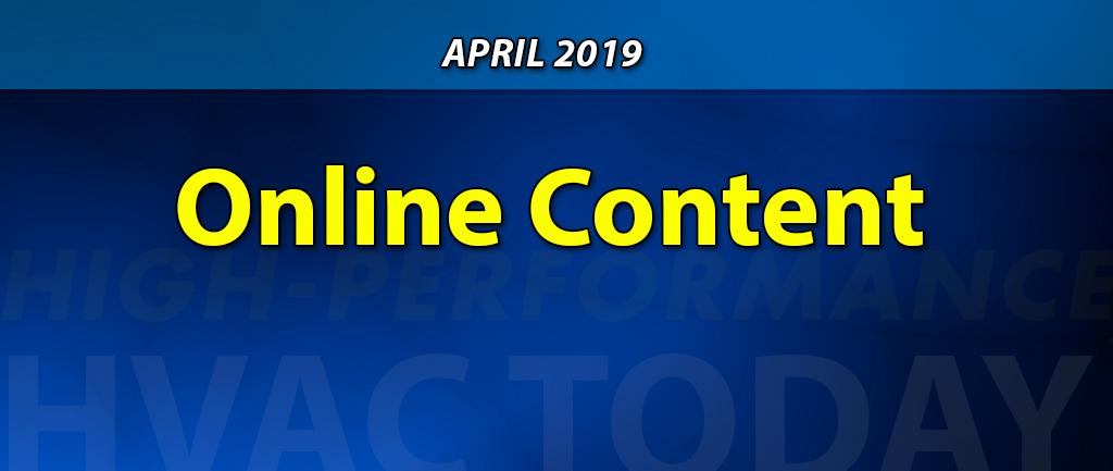 April 2019 Online Content