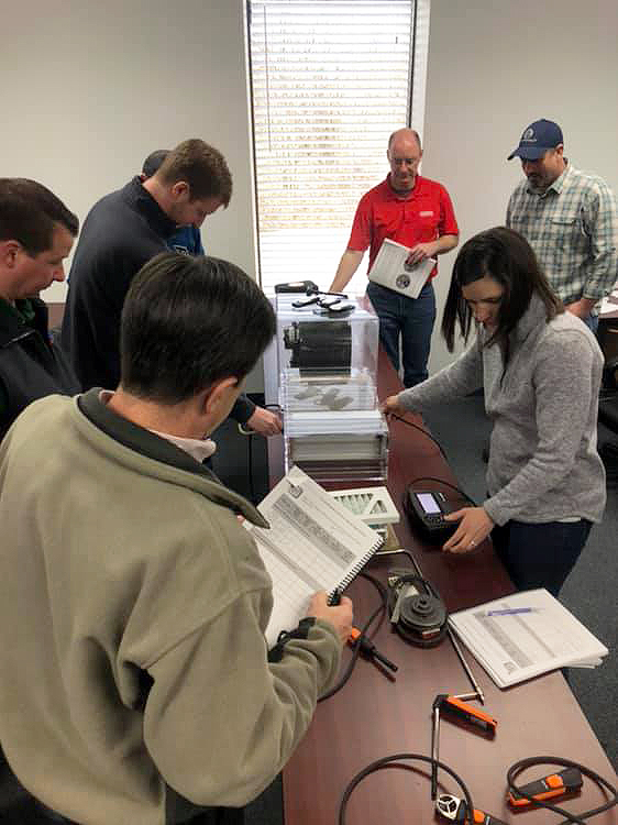 #HVAC technician training includes how to use the right tools and instruments in the field.