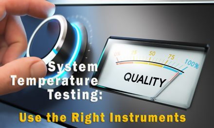 System Temperature Testing:  Use the Right Instruments