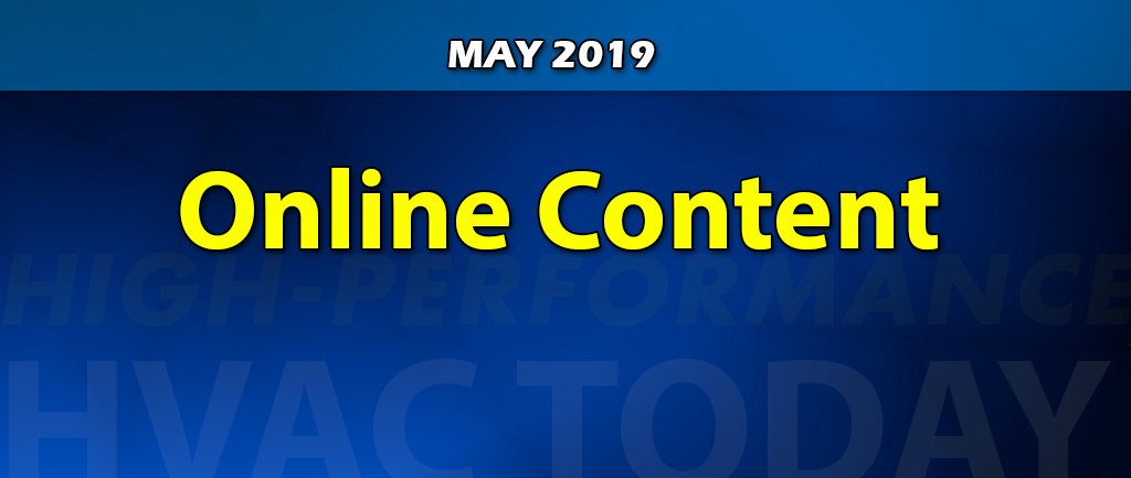May 2019 Online Content