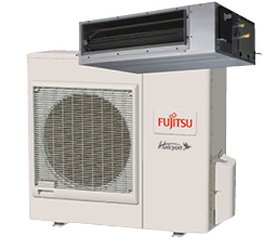 Fujitsu Medium Static Pressure Duct Units