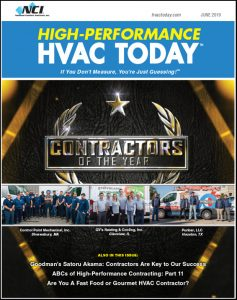 June 2019 HVAC Today