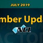 July 2019 Member Update